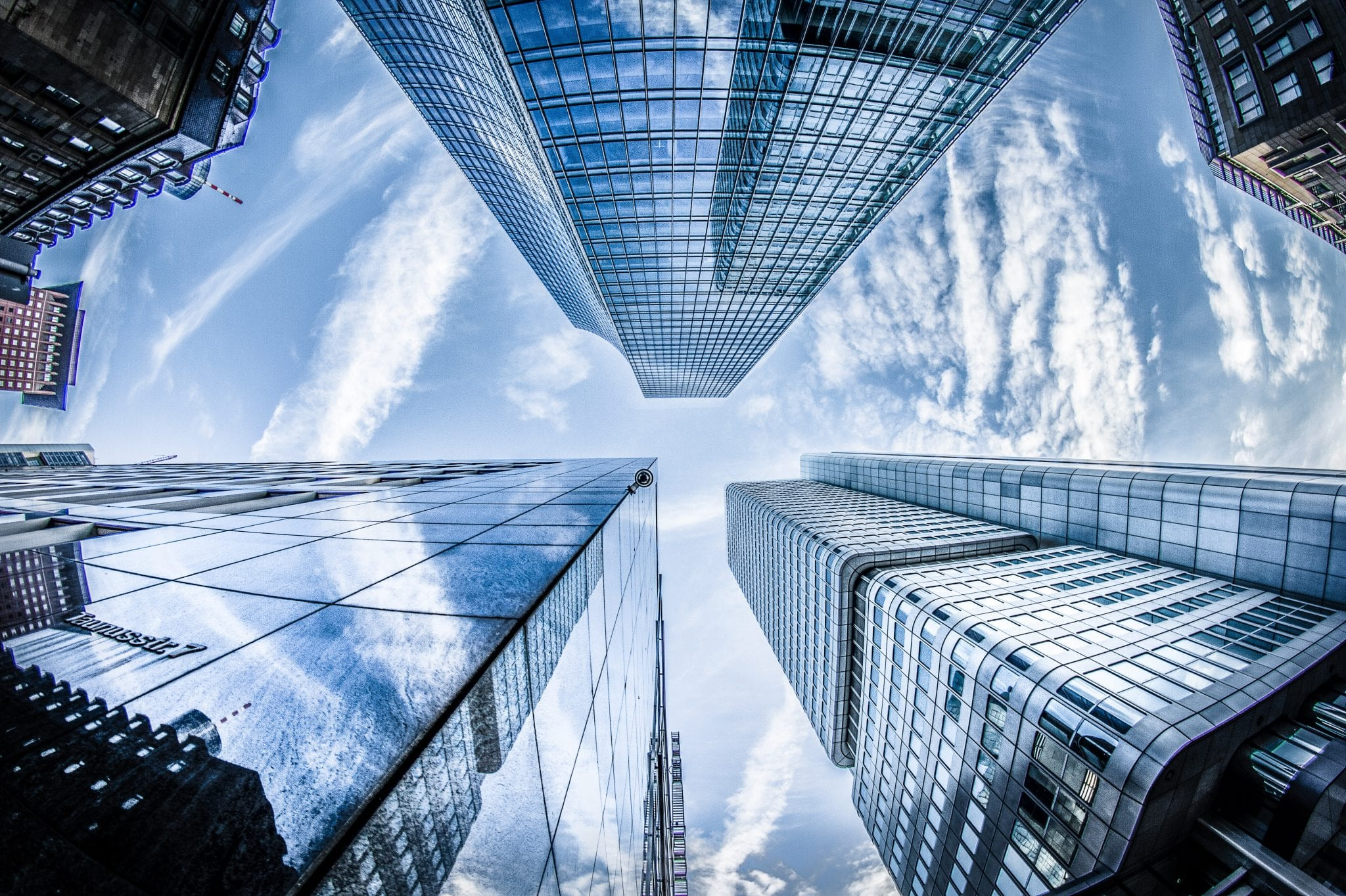 High-rise buildings facades